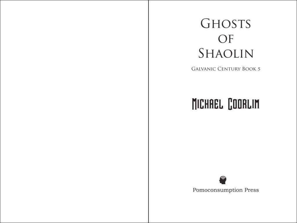 Ghosts Of Shaolin: Cover Page