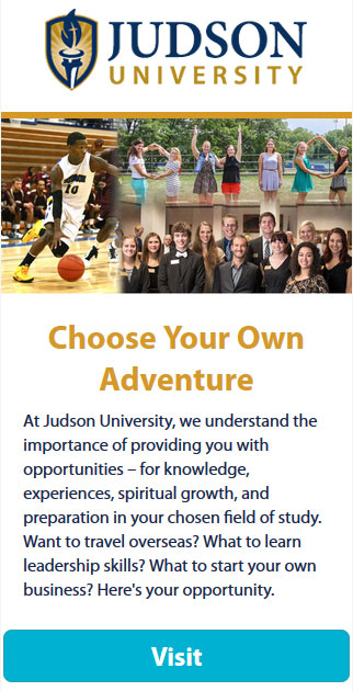 Judson University Opportunities